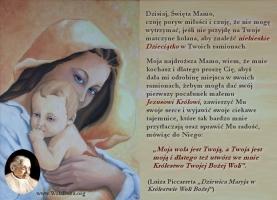 Macierzyńskie ramiona Matki Bożej