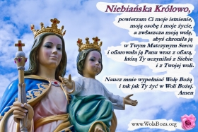 Niebiańska Królowa z Dzieciątkiem Jezus