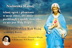 Dzień Woli Bożej Niebiańska Matka