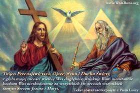 modlitwa do Trójcy Przenajświętszej