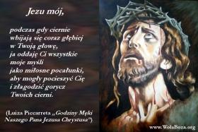 ciernie w głowie Jezusa